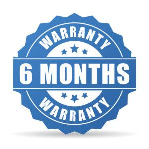 6 Months Warranty